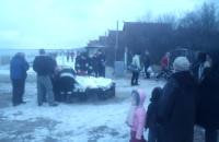 Akcja ratownicza przy sopockim molo