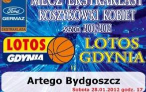 28.01.2012 godz. 17:00 - mecz Ford Germaz Ekstraklasy, Lotos Gdynia - Artego Bydgoszcz