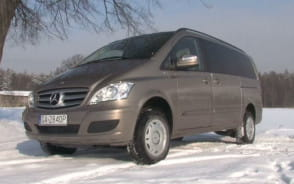 Mercedes Viano 4MATIC. Biznesowe 4x4