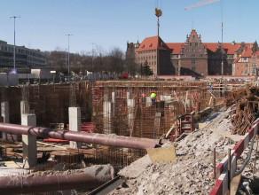 Budowa Gdańskiego Teatru Szekspirowskiego