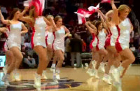 Cheerleaders Prokom w NBA!