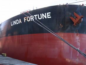 Gigantyczna Linda Fortune zawinęła do Gdyni