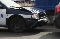 Zderzenie policyjnych radiowozów