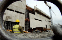 Na budowie ECS-u