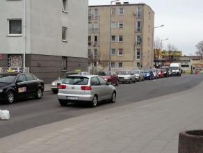 Korki na ul. Dworskiej i ul. PCK