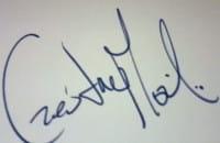 Autografy na zapleczu Ergo Areny