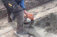Prace drogowe w ciągu Traktu św. Wojciecha