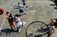 Koszykówka na świeżym powietrzu