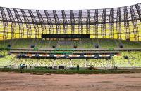 Wymiana murawy przed Euro 2012