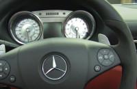 Mercedes SLS  roadster. Moc bez dachu