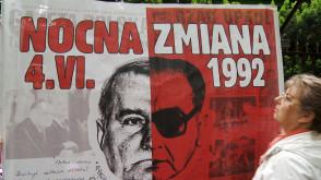 Pikieta pod domem Lecha Wałęsy