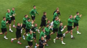 Irlandczycy trenowali w Gdyni