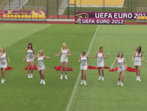 Cheerleaders Prokom Gdynia według hiszpańskiej telewizji