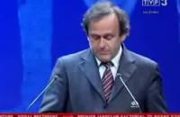 Michel Platini ogłasza werdykt UEFA