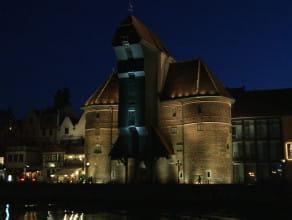 Nowa iluminacja gdańskiego Żurawia