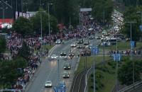Kibice w drodze do gdańskiej strefy