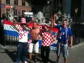 Chorwaci już śpiewają