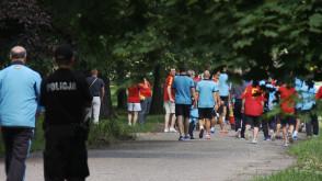 Hiszpańscy piłkarze spacerowali po Gdańsku