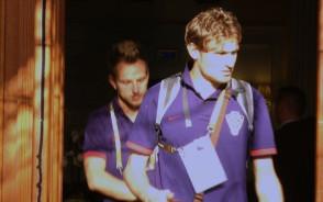 Piłkarze Chorwacji jadą na mecz