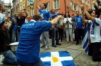 Grecy bawią się na Długiej
