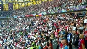 Hymn Niemiec odśpiewany przed meczem