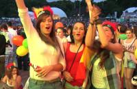 Emocje podczas finału Euro