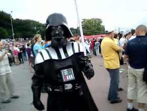 Lord Vader w strefie kibica