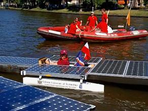 Łodzie solarne z PG