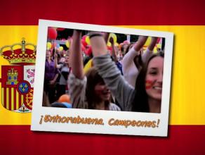 ¡Gracias, España!