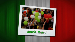 Grazie, Italia!