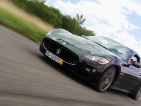 Agresywny miejski diabeł - Maserati GranTurismo S