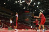 Otwarty trening reprezentacji Polski w Ergo Arenie