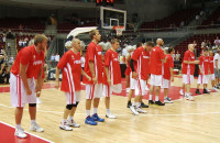 Elita polskich koszykarzy zagrała w Ergo Arenie
