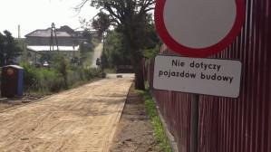 Naprawa nawierzchni ul. Myśliwskiej w Gdańsku