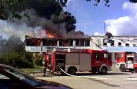 Pożar na Hallera