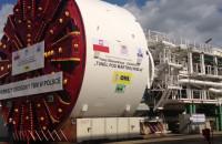 Maszyna TBM, która wydrąży tunel pod Martwą Wisłą