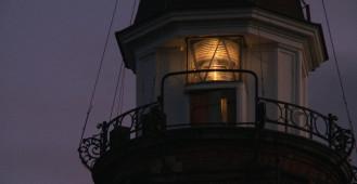 Zabytkowa latarnia w Nowym Porcie