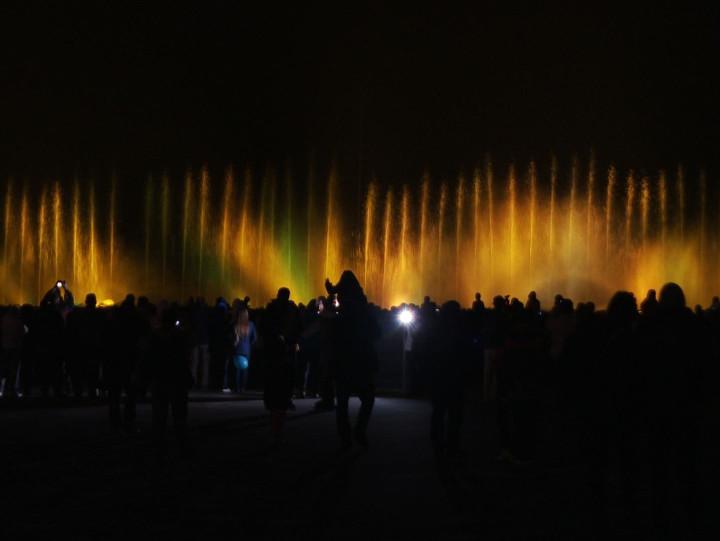 Zobacz pokaz fontann, który odbył się po meczu na PGE Arenie.