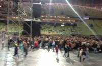 Tuż przed rozpoczęciem koncertu