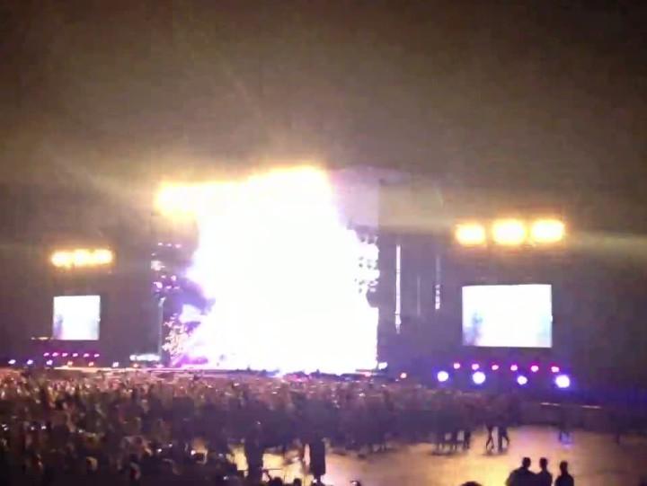 Pierwszy utwór wykonany przez Jennifer Lopez podczas koncertu wGdańsku.