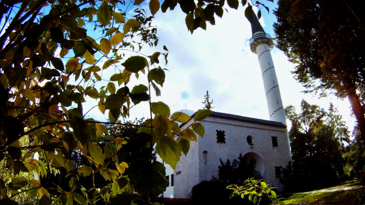Zobacz, jak modlą się muzułmanie ijak imam wygłasza kazanie wjedynym meczecie na terenie Trójmiasta.