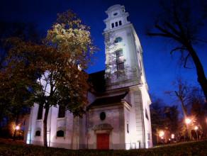 Wnętrza luterańskiego kościoła