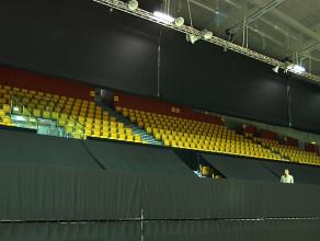 System kotar i kurtyn w Hali Gdynia już działa