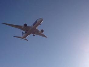 Dreamliner nad Rębiechowem