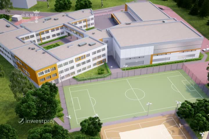 Zobacz, jak będzie wyglądała budowana szkoła wKokoszkach.