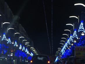 Świąteczne światełka na ulicach Trójmiasta