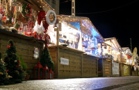 Pustki na trójmiejskich jarmarkach świątecznych