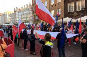 W Gdańsku odbył się Wiec demokracji