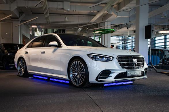 Nowy Mercedes-Benz Klasy S w trójmiejskim salonie