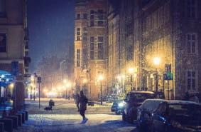 Zdjęcia: Gdańsk w zimowym wydaniu
